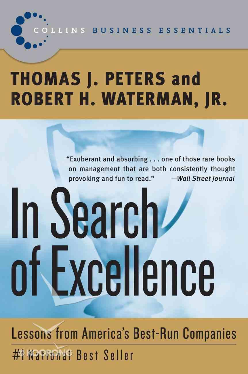 In Search of Excellence eBook