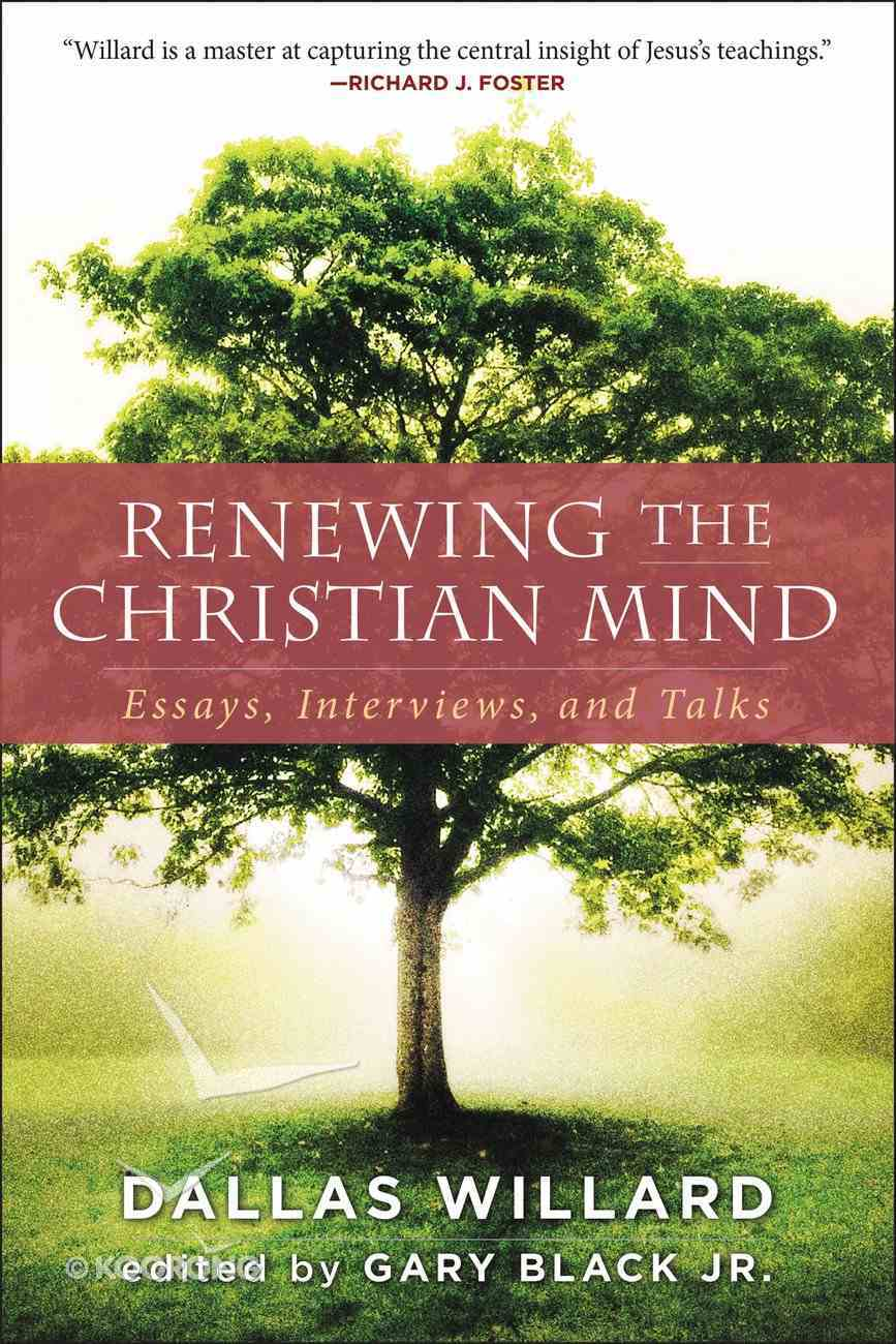 Renewing the Christian Mind eBook