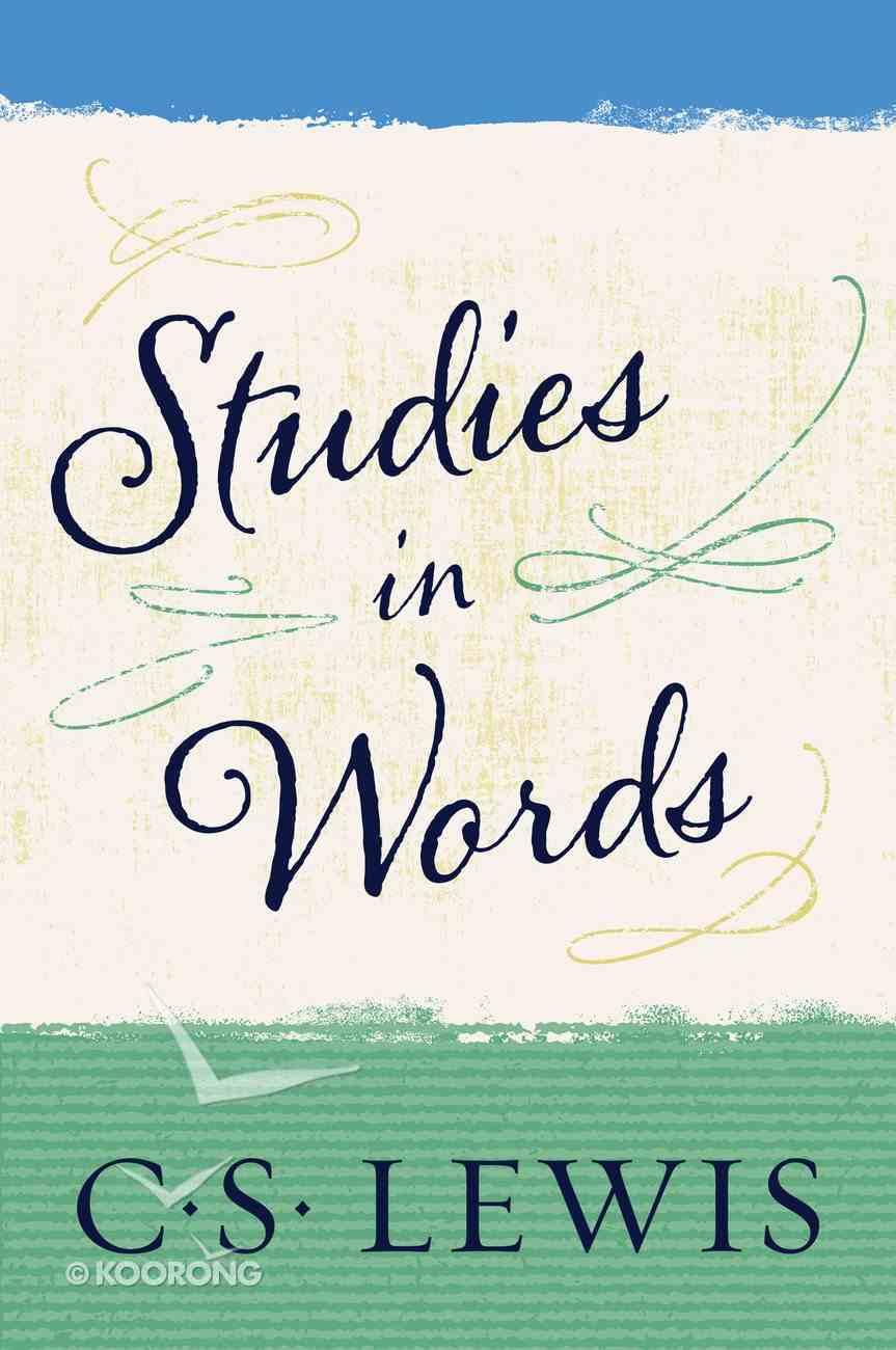 Studies in Words eBook