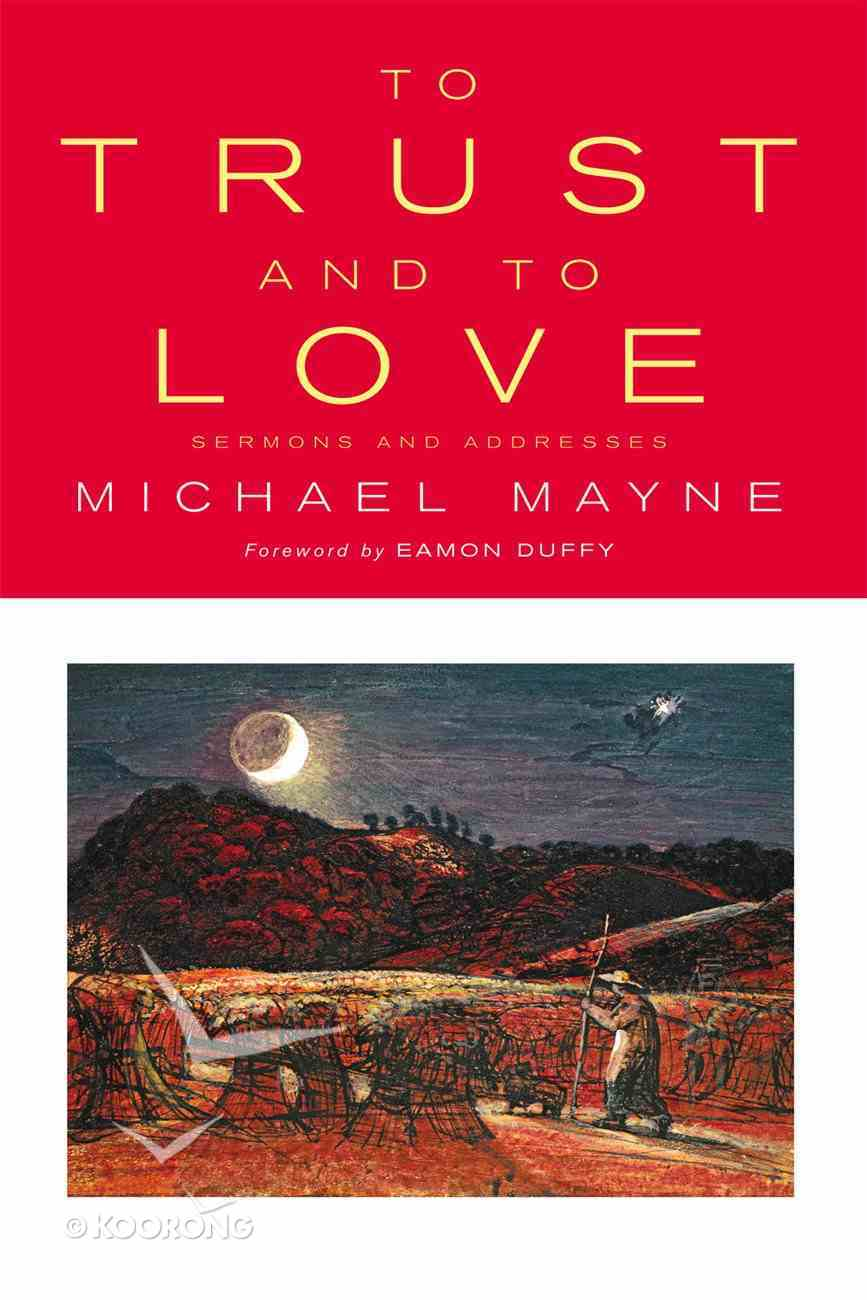To Trust and to Love eBook