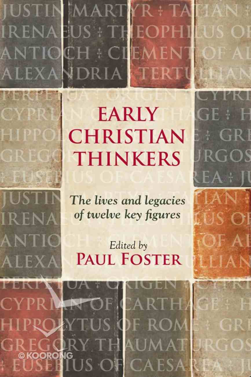Early Christian Thinkers eBook