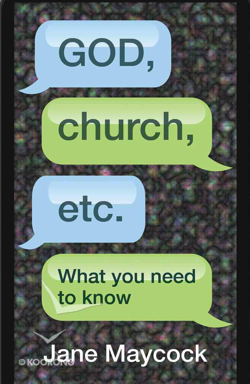 God, Church, Etc. eBook