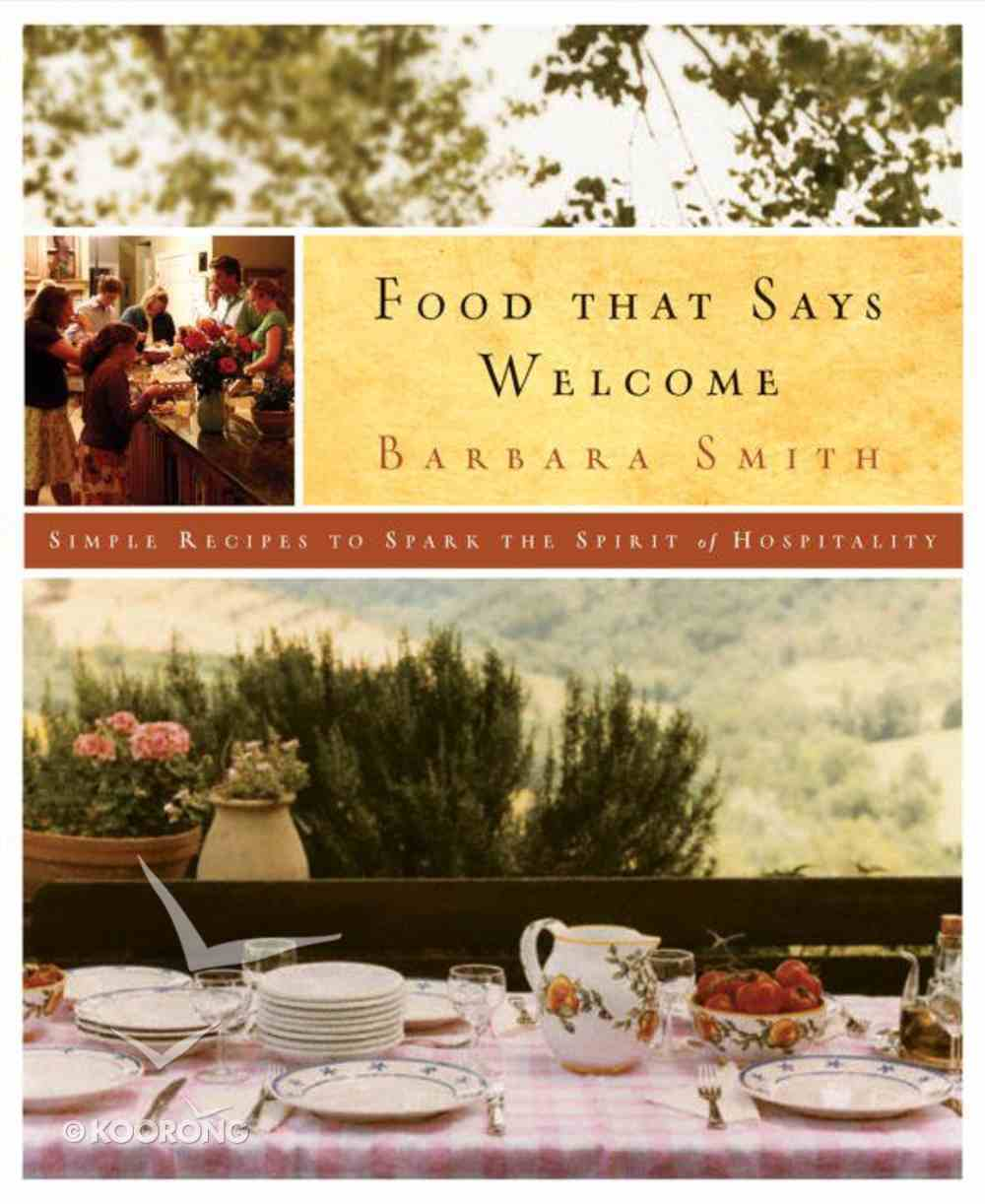 Food That Says Welcome eBook