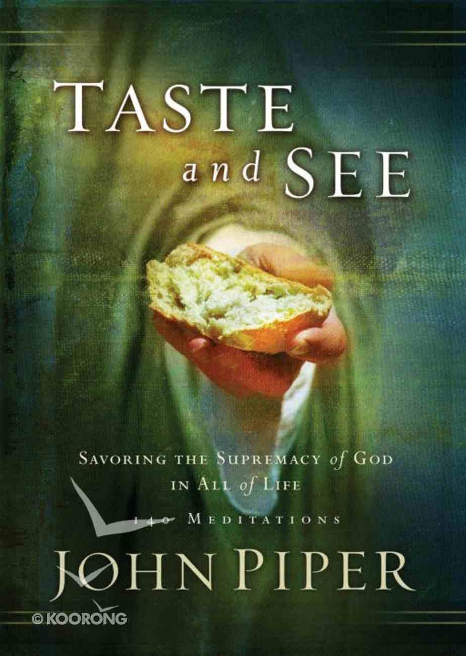 Taste and See eBook
