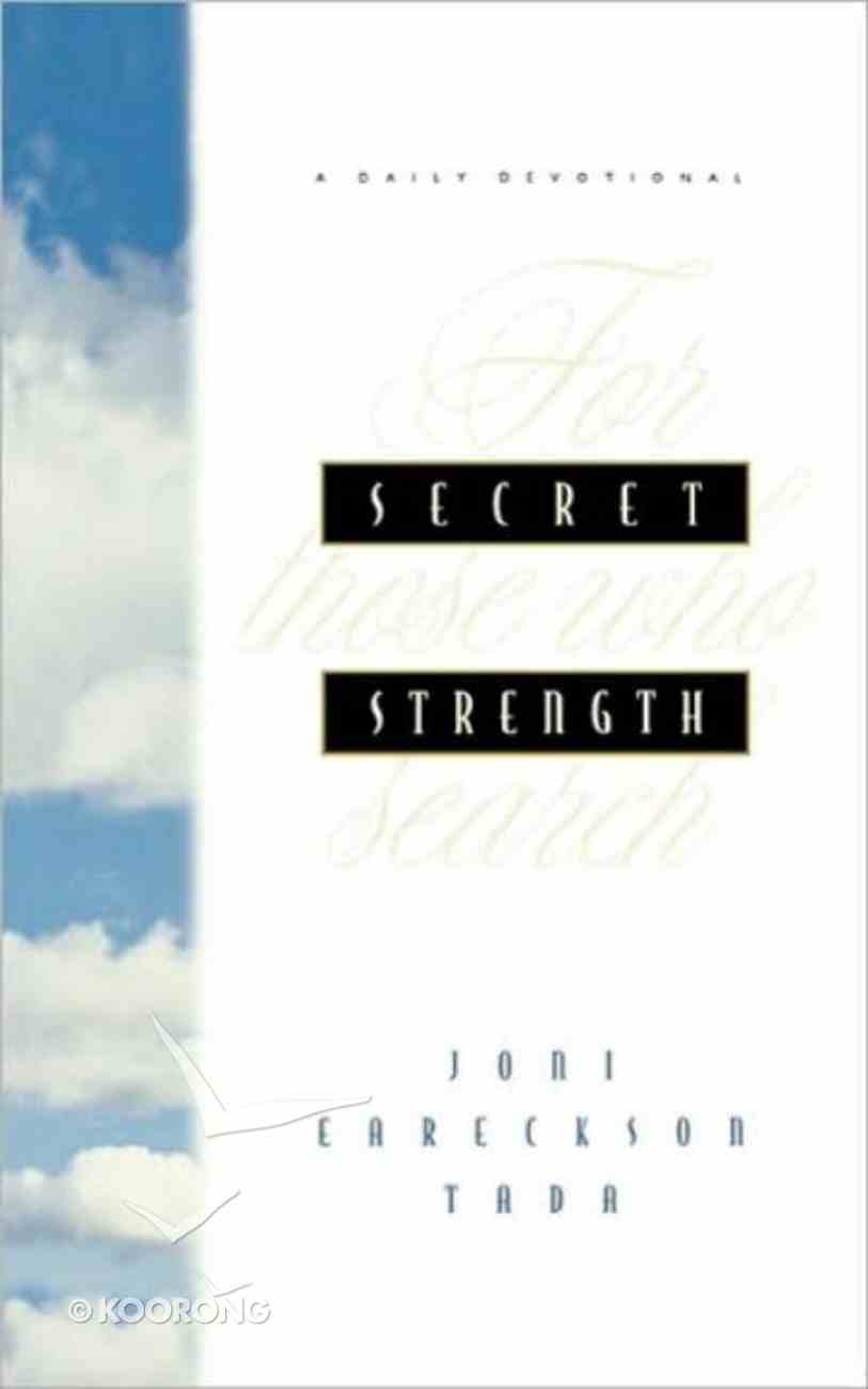 Secret Strength: For Those Who Search eBook