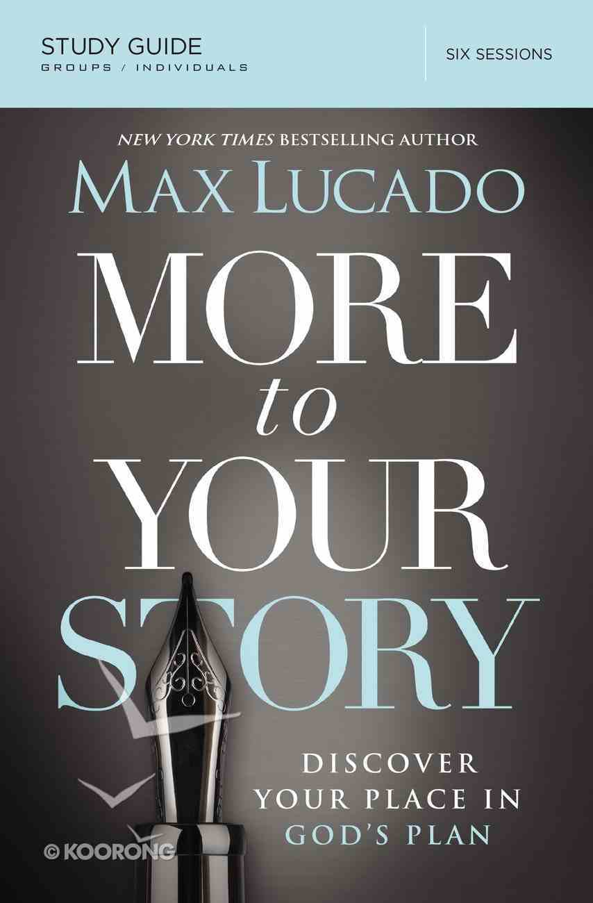 More to Your Story (Study Guide) eBook