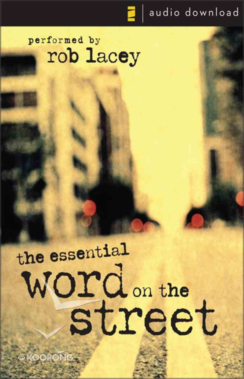 Essential Word on the Street, Audio eAudio Book