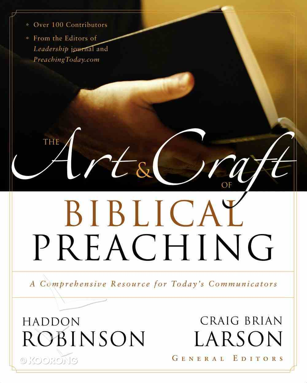 The Art & Craft of Biblical Preaching eBook