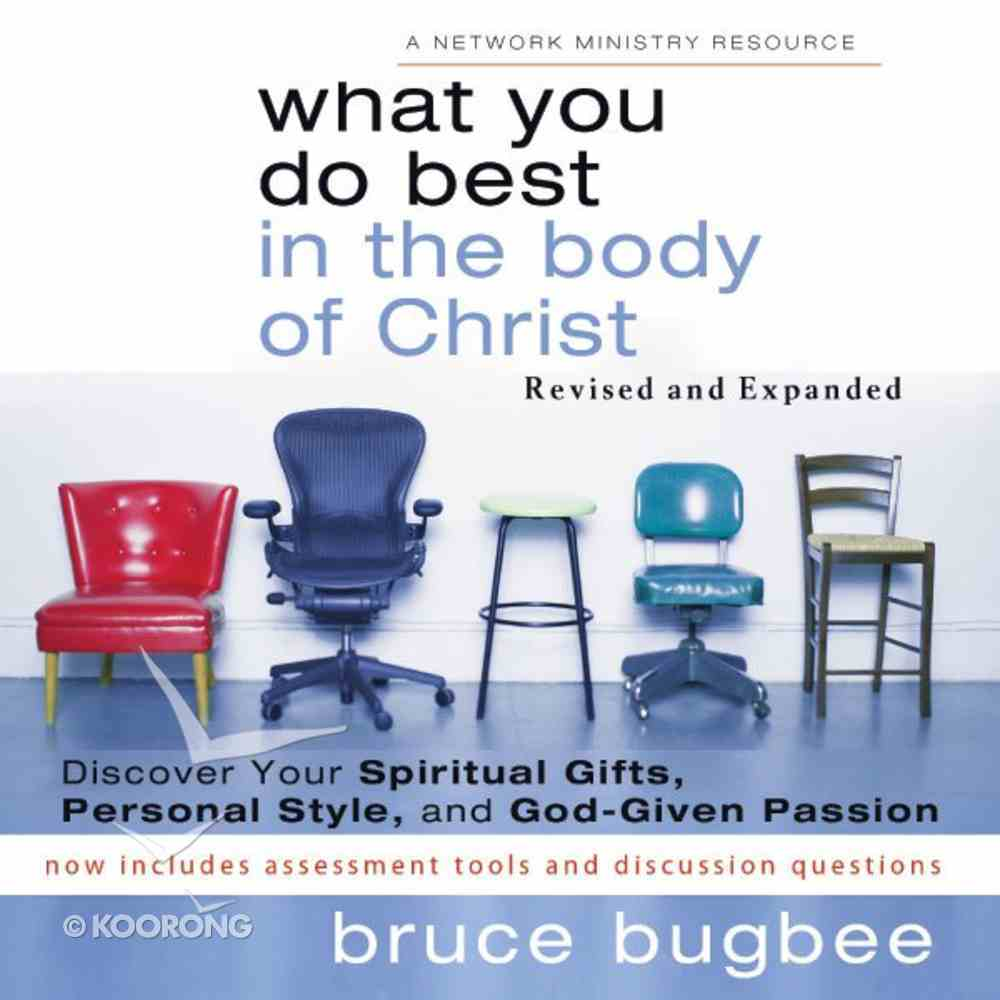 What You Do Best in the Body of Christ eAudio Book
