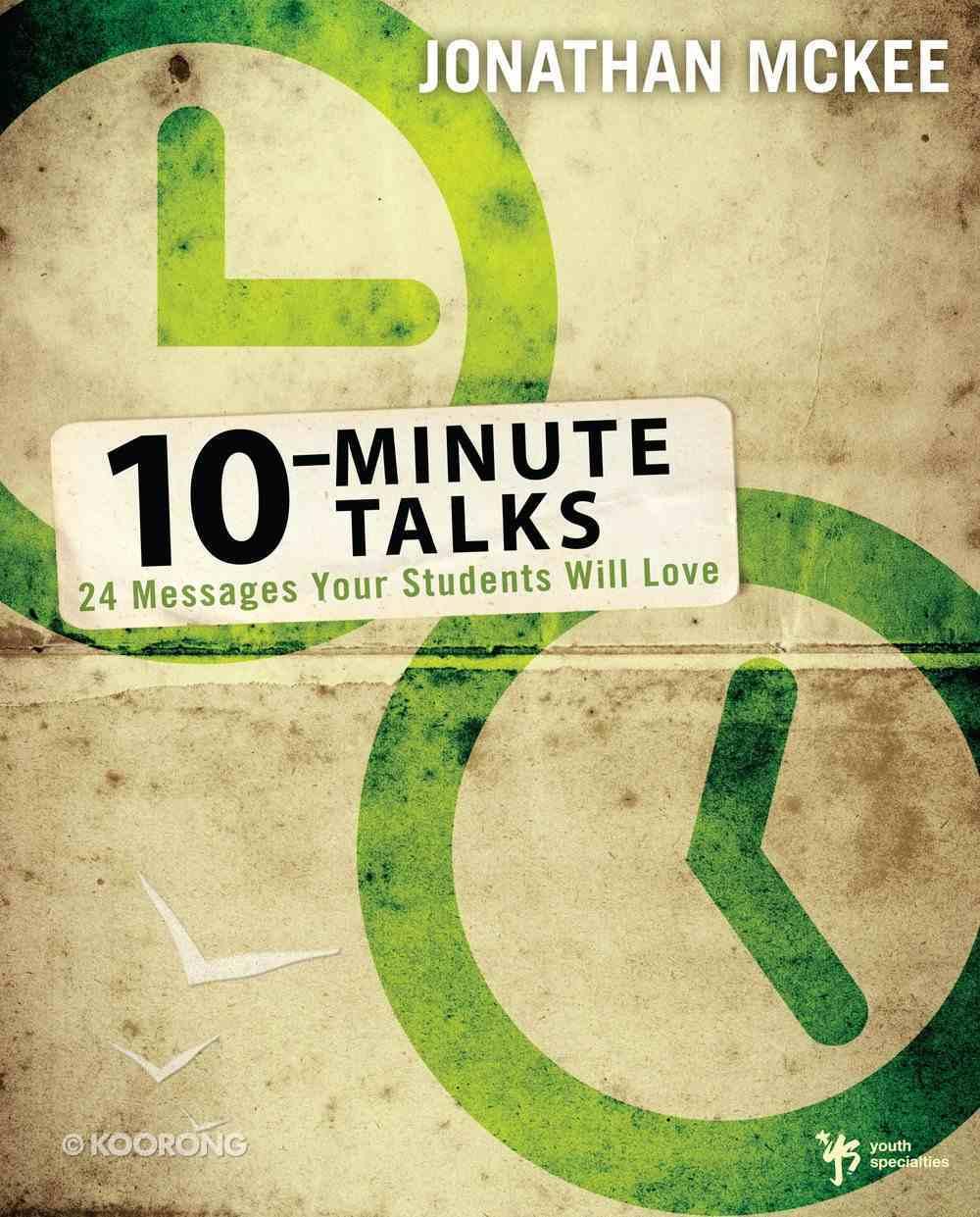 10 Minute Talks eBook