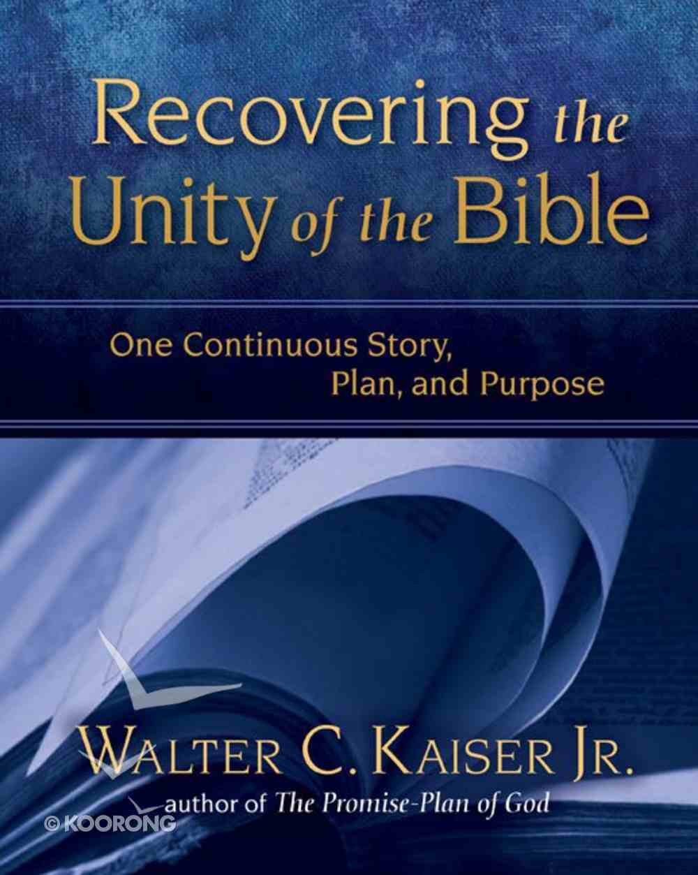 Recovering the Unity of the Bible eBook