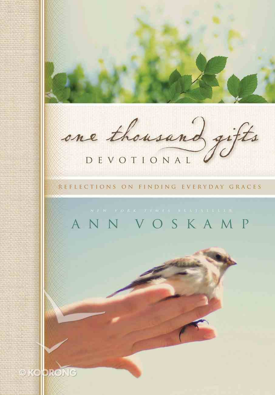 One Thousand Gifts Devotional eBook