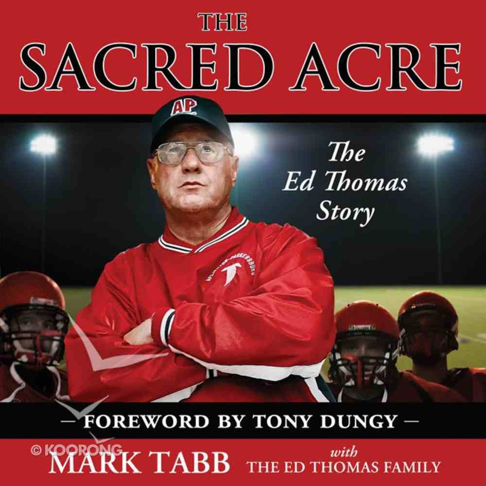 The Sacred Acre eAudio Book