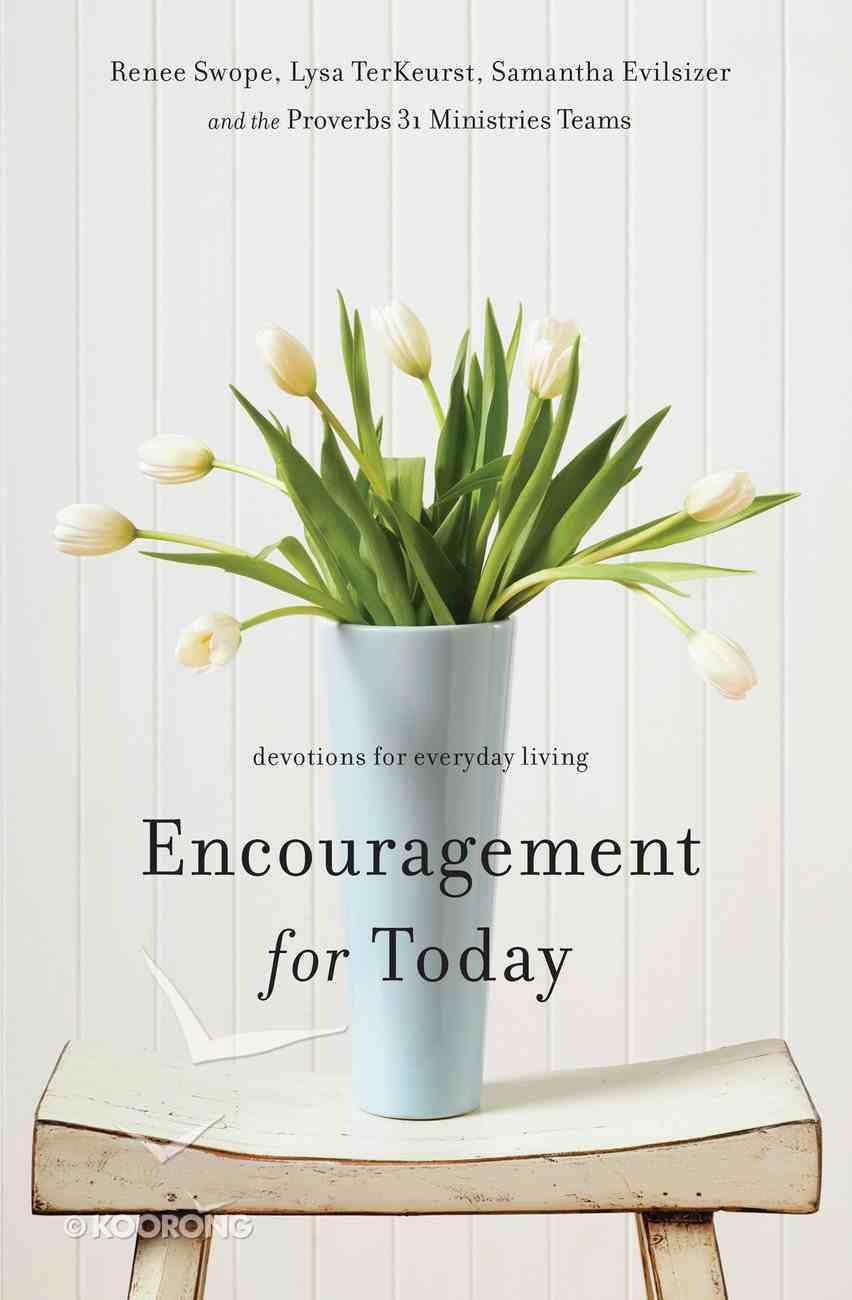 Encouragement For Today eBook