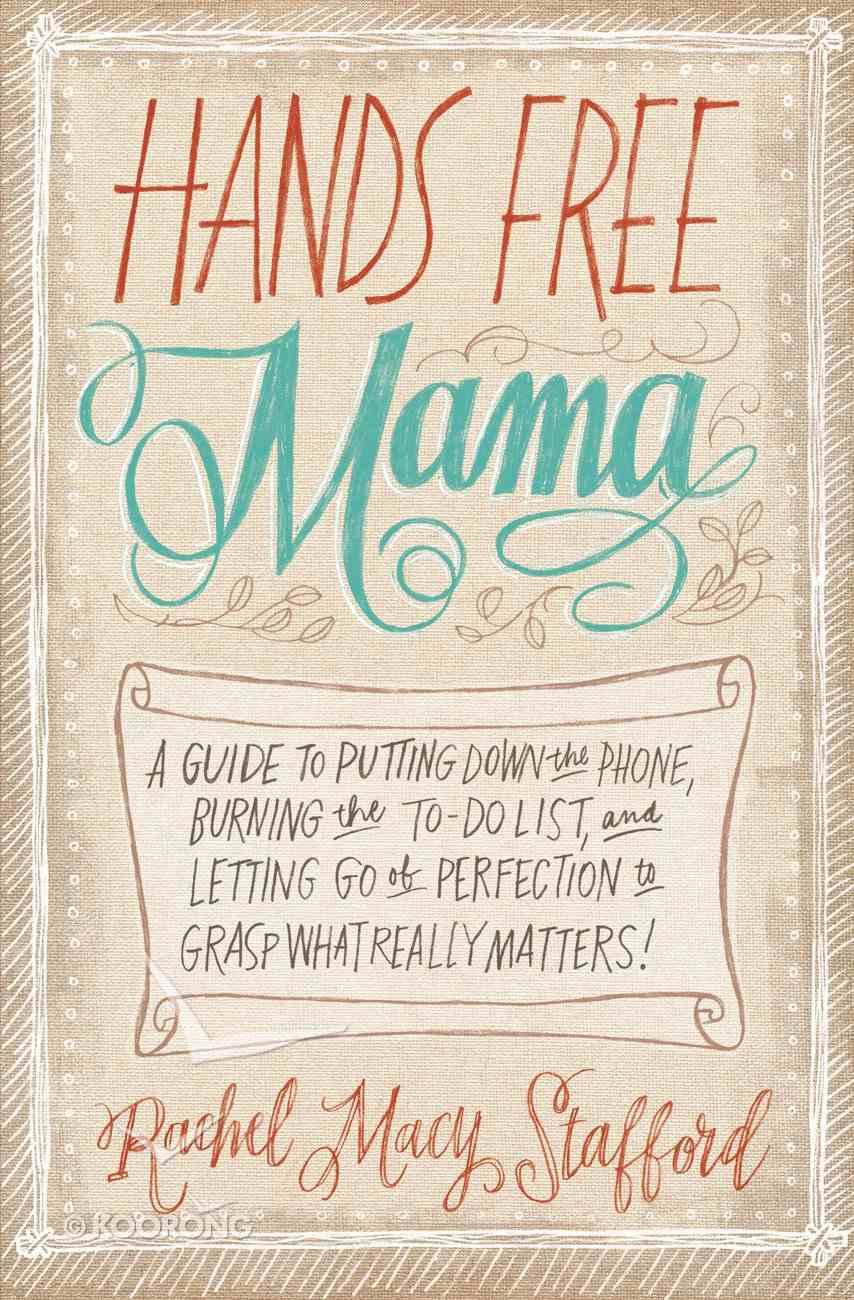 Hands Free Mama eBook
