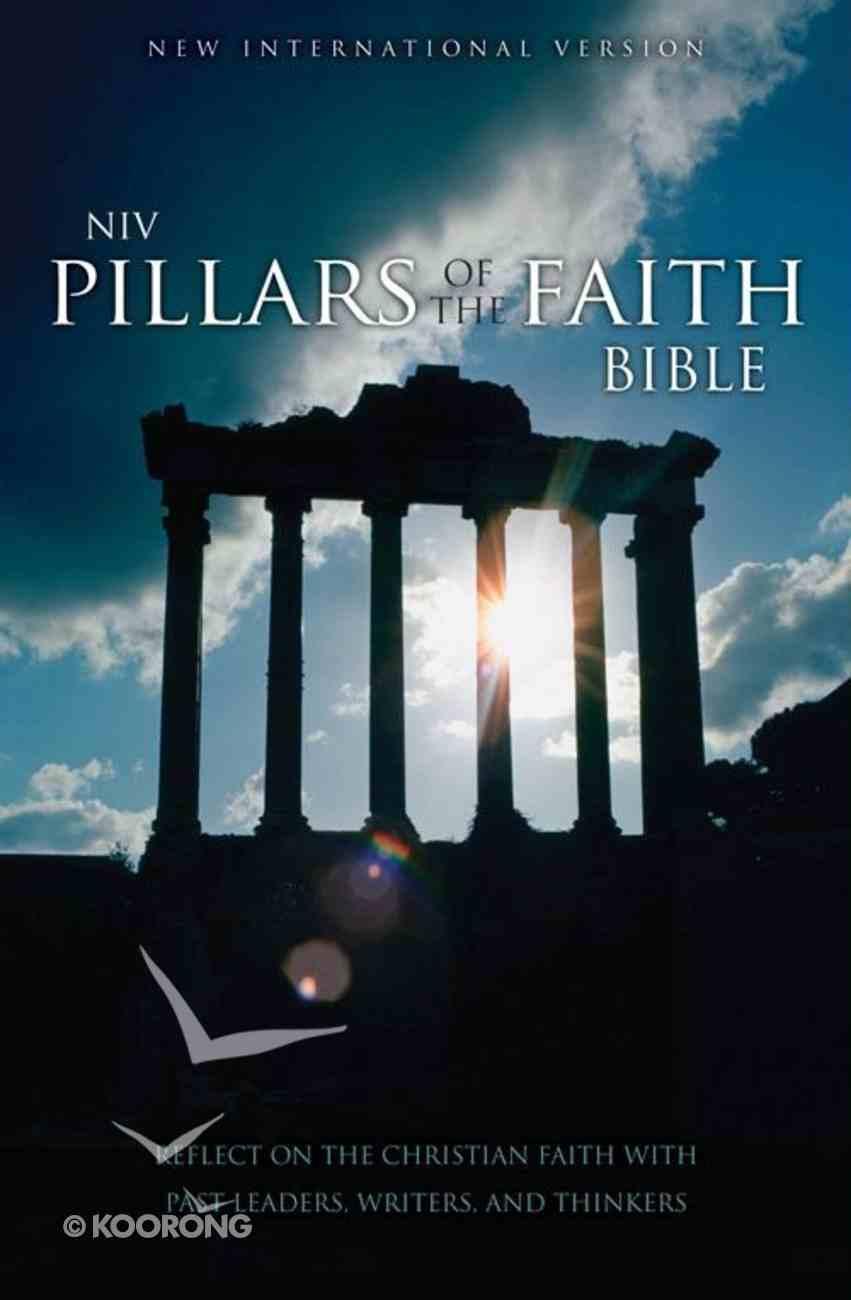 NIV Pillars of the Faith Bible Caramel Duo-Tone eBook