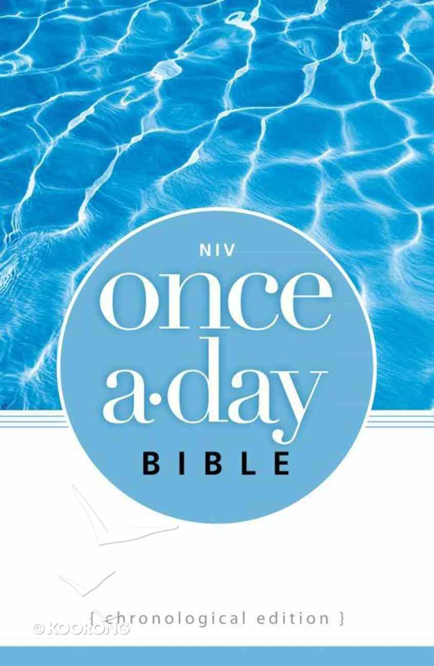 NIV Once-A-Day Bible Chronological Edition eBook