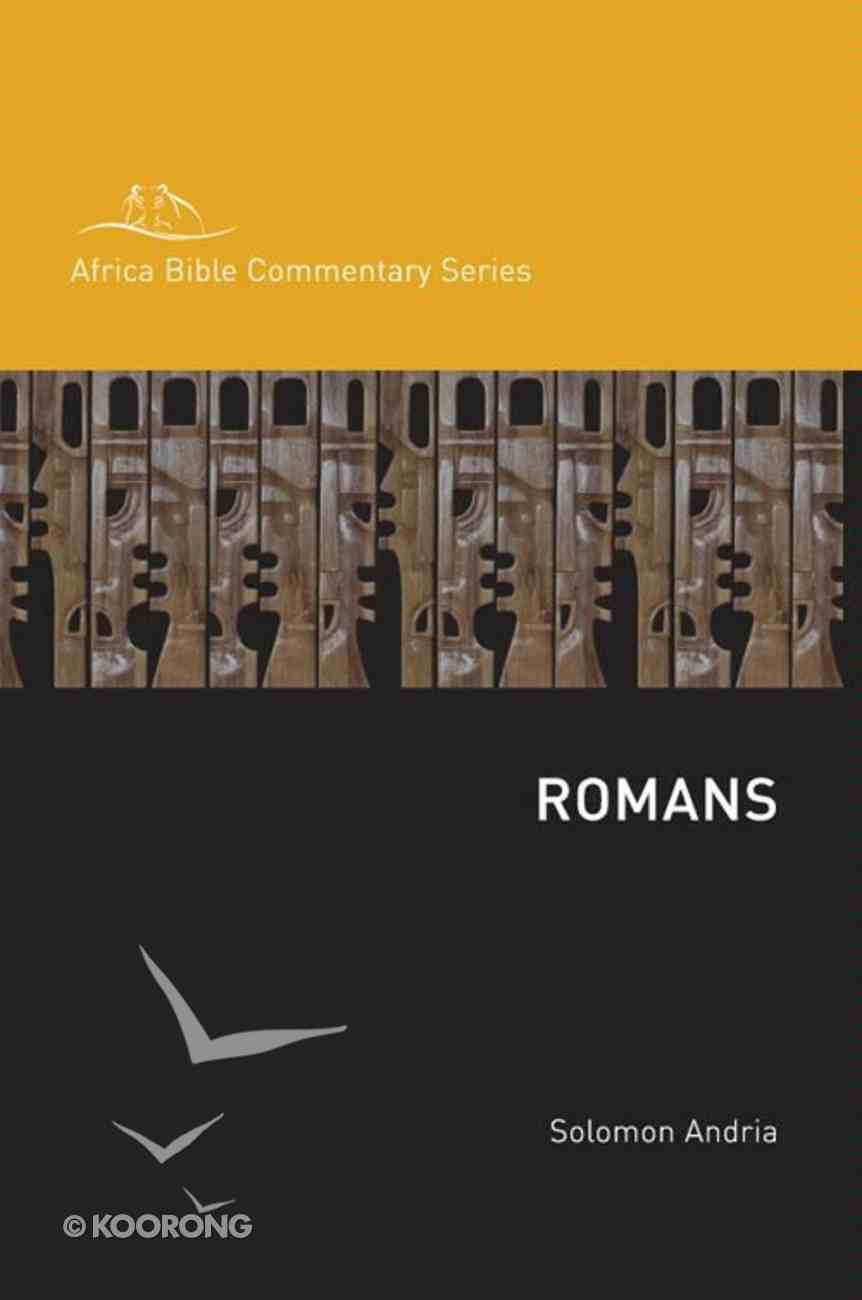 Romans (Africa Bible Commentary Series) eBook
