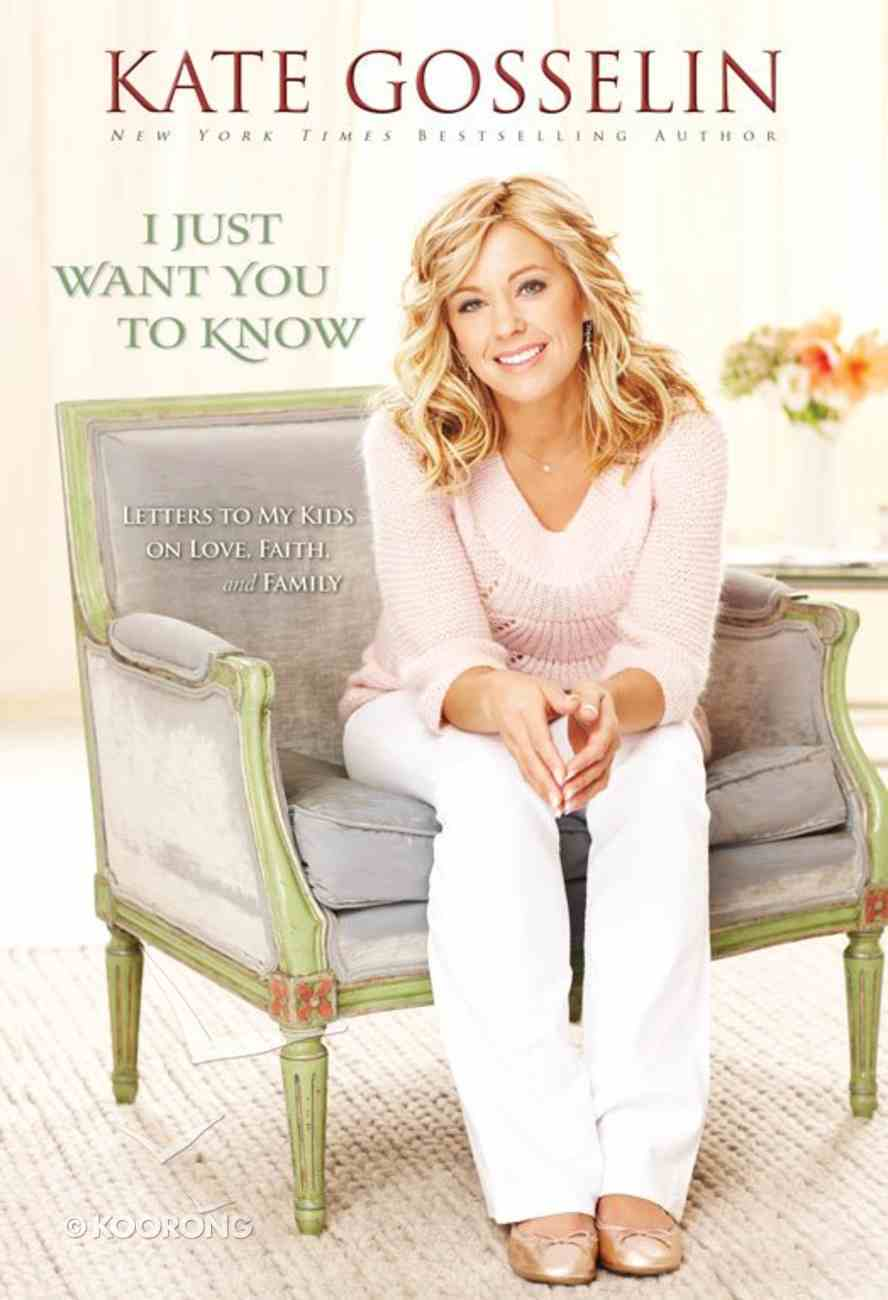 I Just Want You to Know eBook