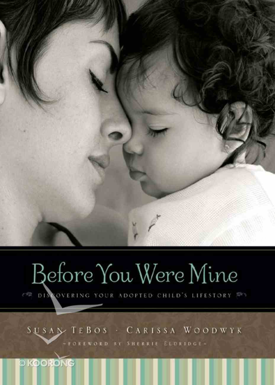 Before Your Were Born: Discovering Your Adopted Child's Lifestory eBook