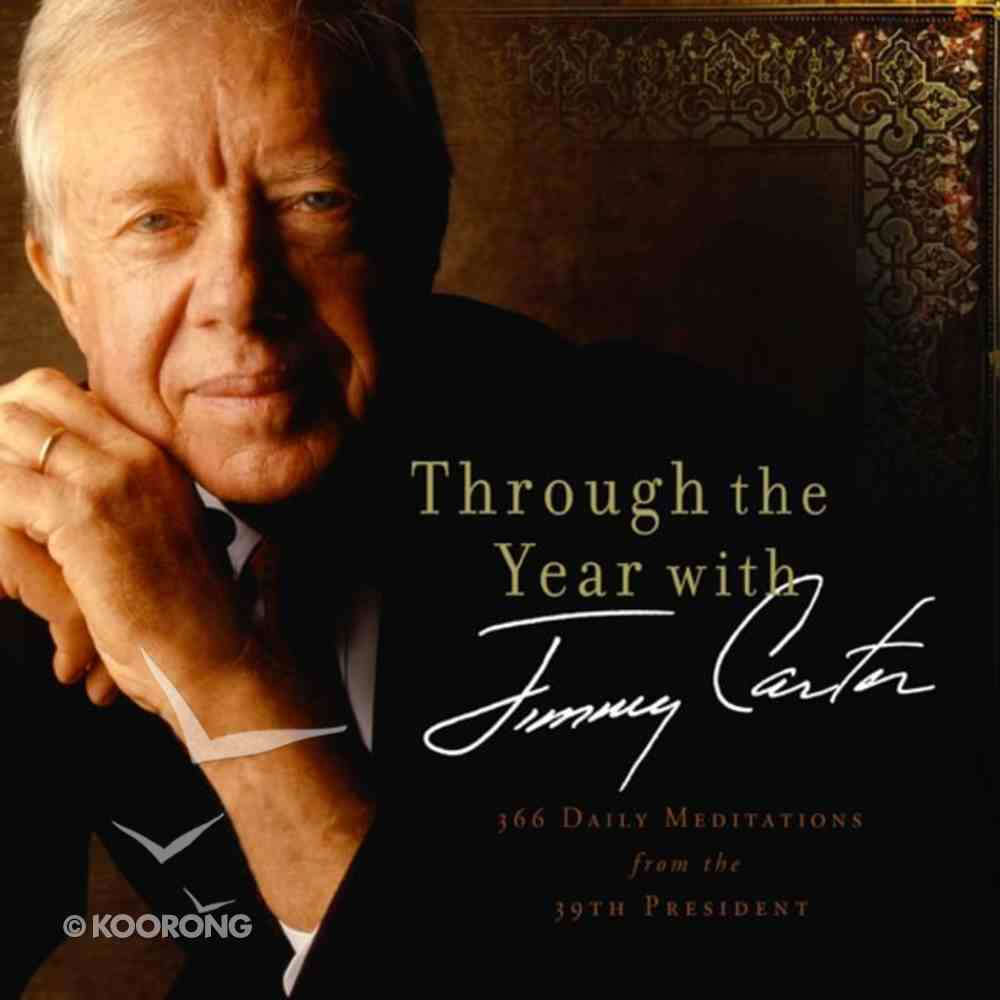 Through the Year With Jimmy Carter eAudio Book