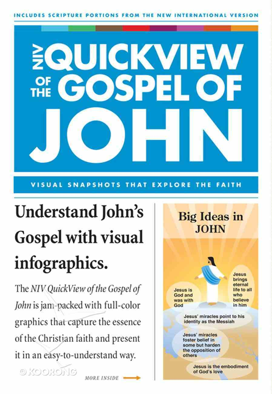 NIV Quickview of the Gospel of John eBook