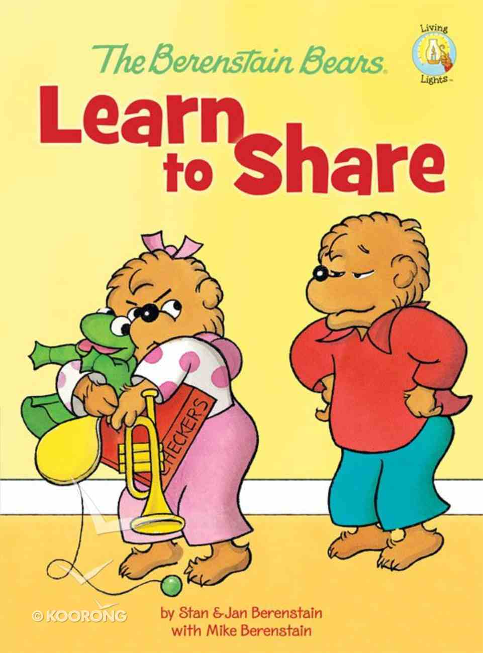 Learn to Share (The Berenstain Bears Series) eBook