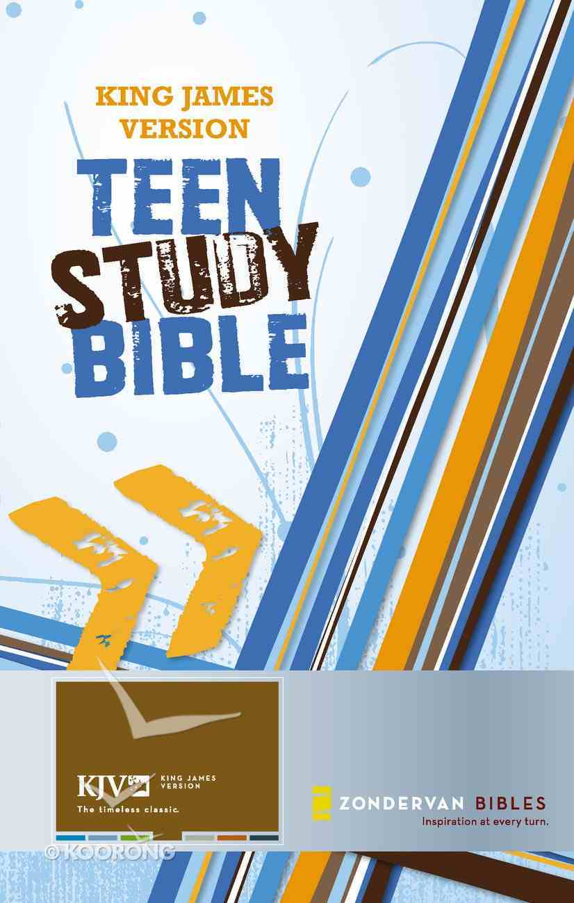 King James Version Teen Study Bible eBook