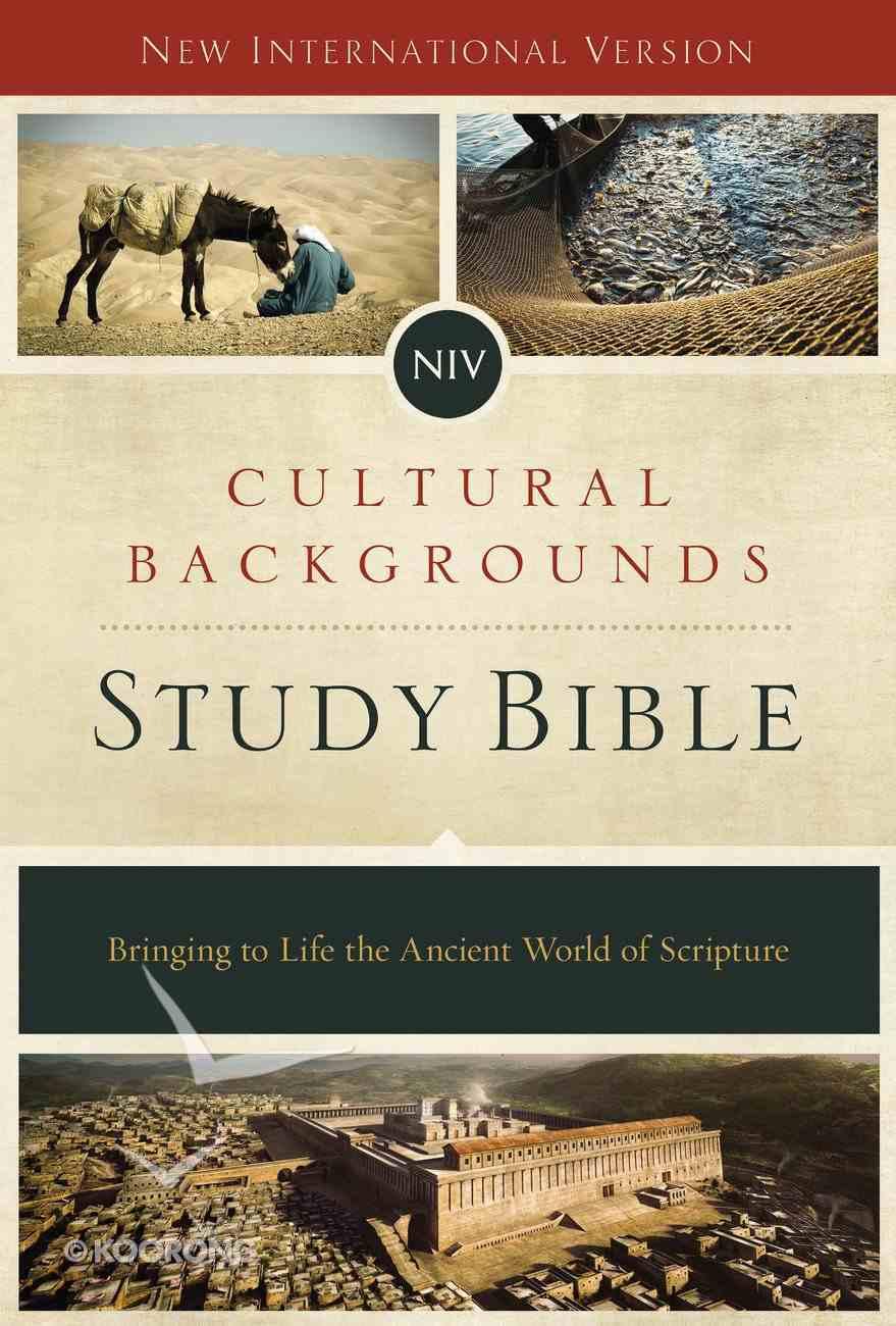 NIV Cultural Backgrounds Study Bible eBook