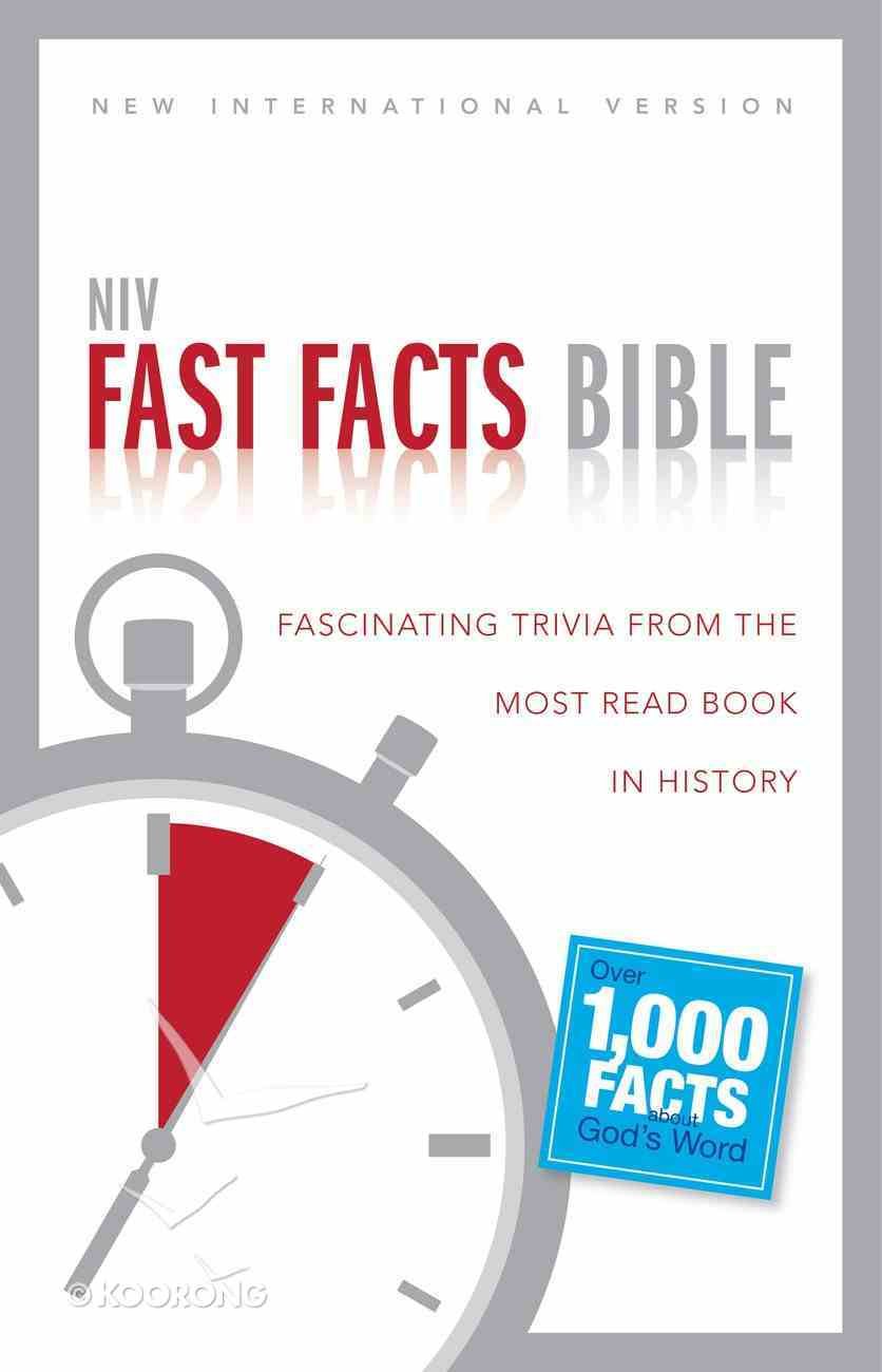 NIV Fast Facts Bible eBook