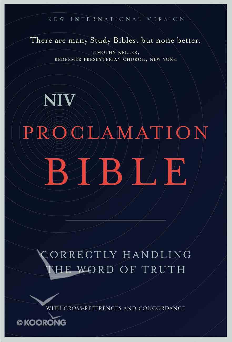 NIV, Proclamation Bible, Ebook eBook