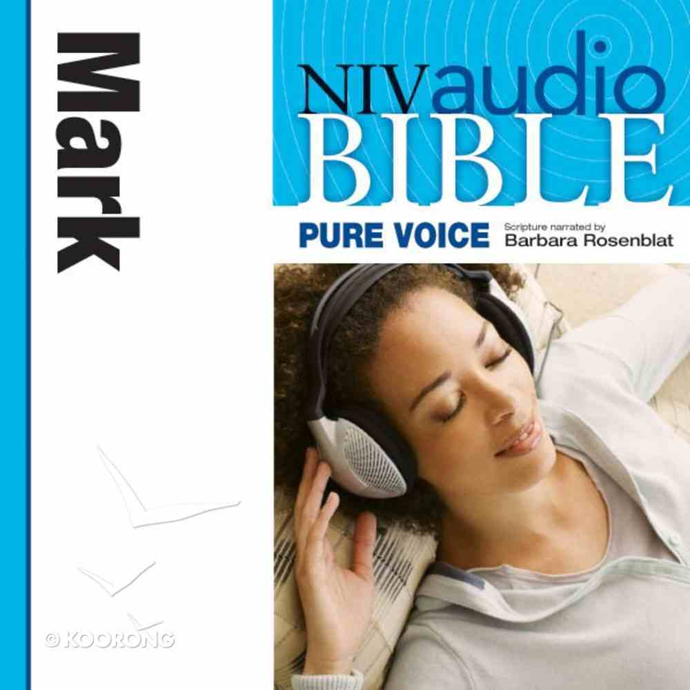 NIV, Audio Bible, Pure Voice: Mark, Audio eAudio Book
