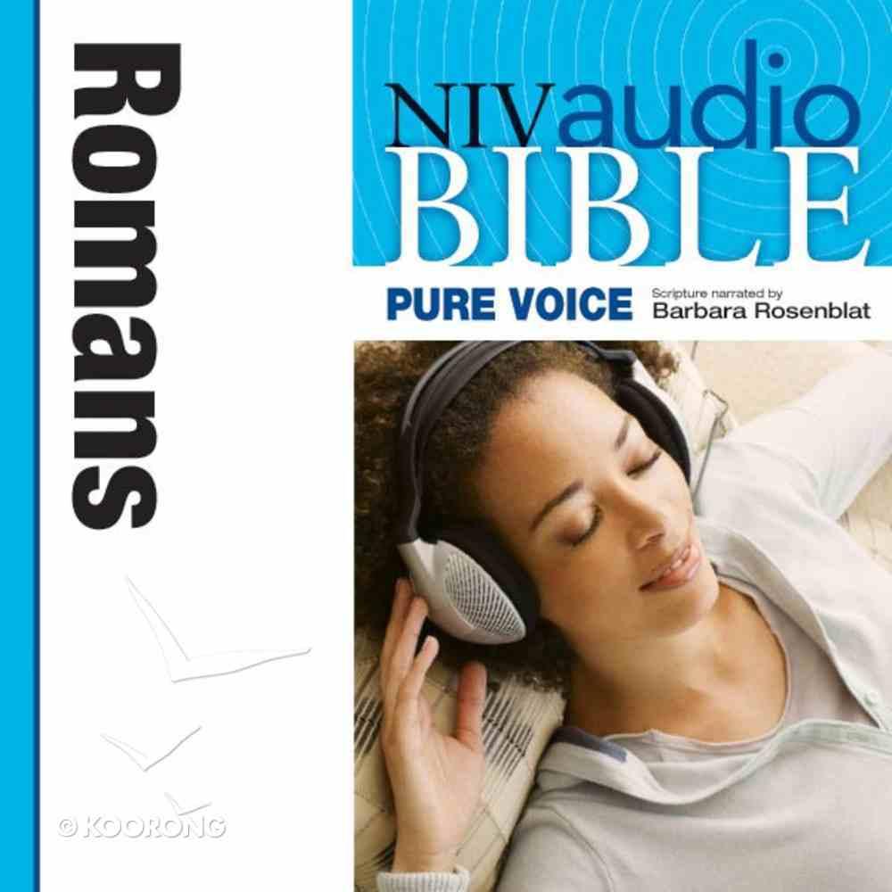 NIV, Audio Bible, Pure Voice: Romans, Audio eAudio Book