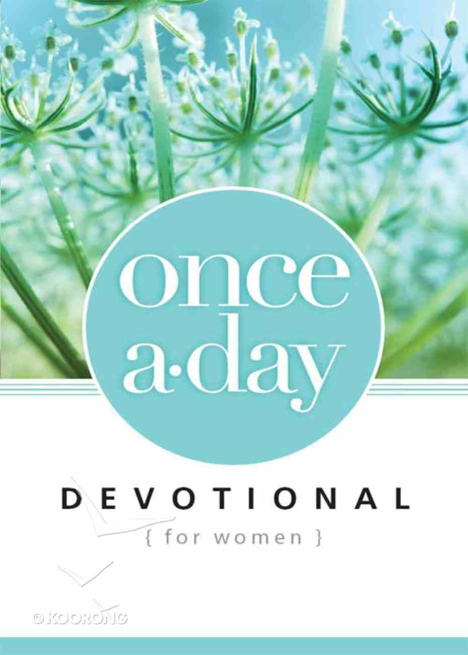 Once-A-Day Devotional For Women eBook