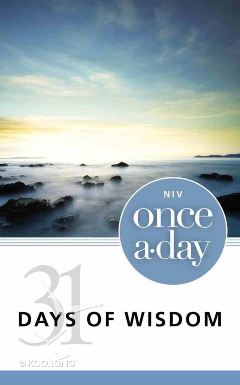 NIV Once-A-Day 31 Days of Wisdom eBook
