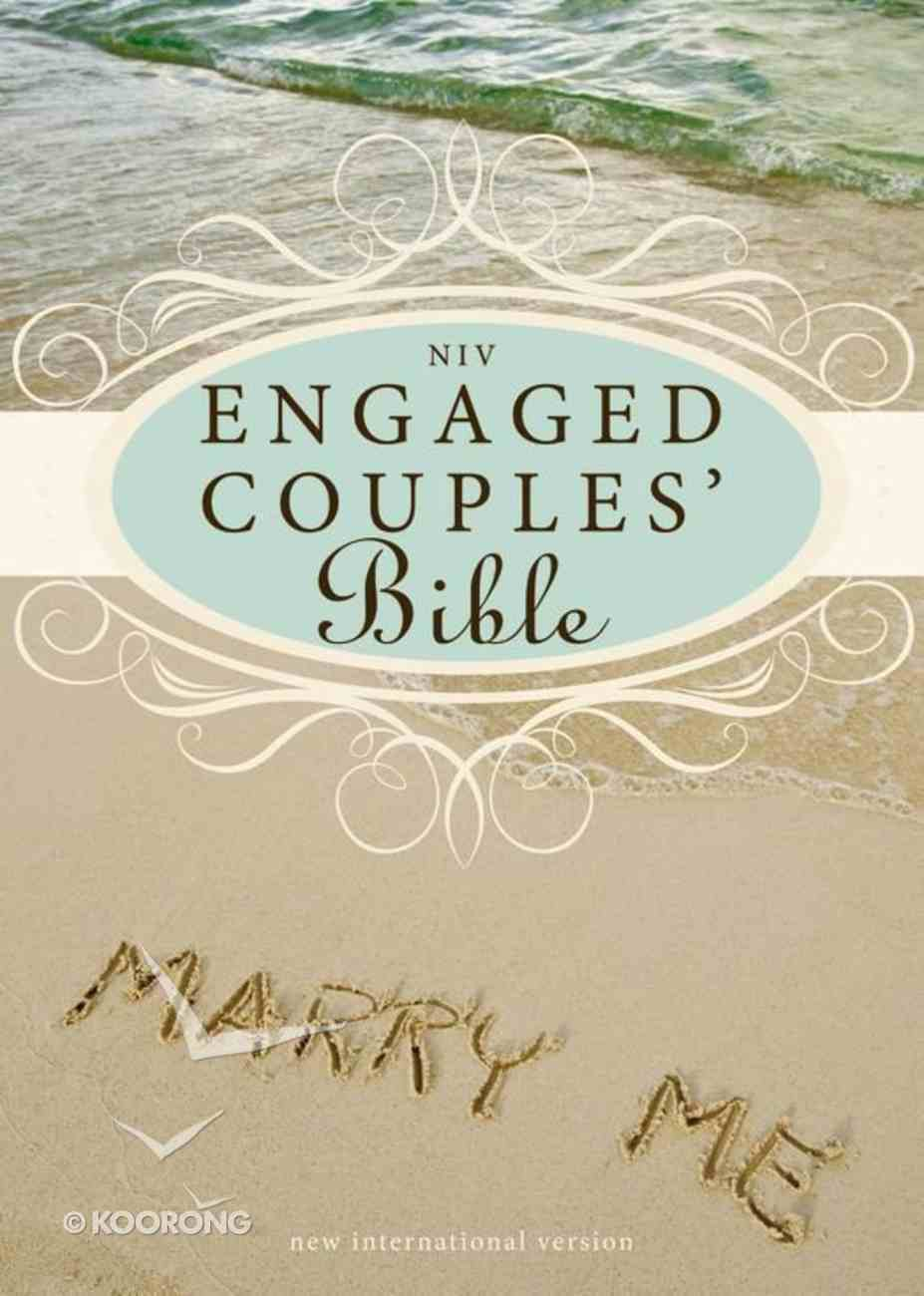 NIV Engaged Couples Bible Seaglass/Wet Sand Duo-Tone eBook