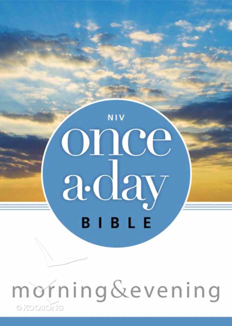 NIV Once-A-Day Morning & Evening Bible eBook
