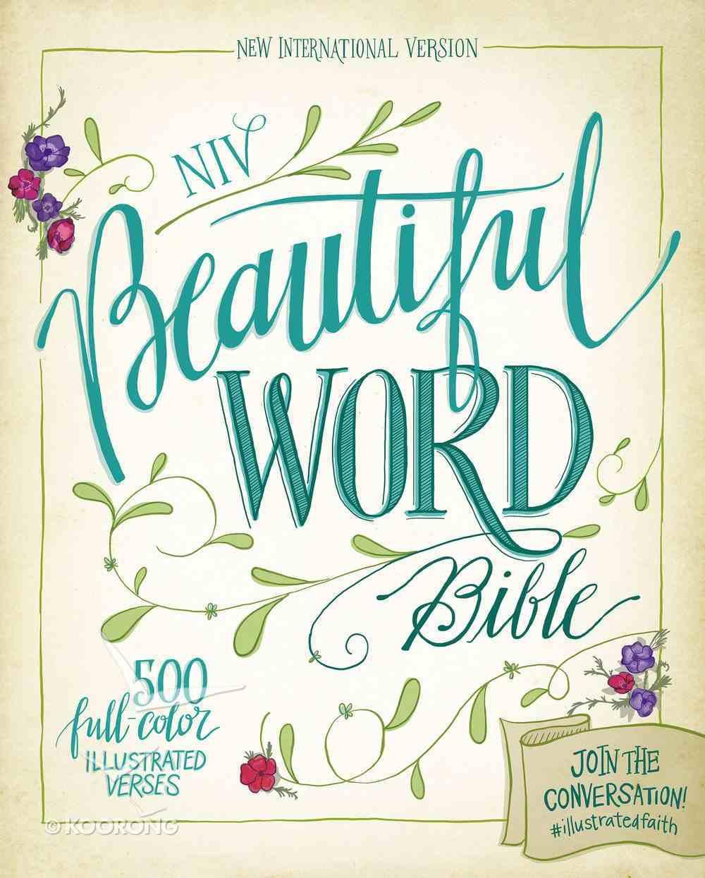 NIV Beautiful Word Bible Chocolate/Turquoise eBook