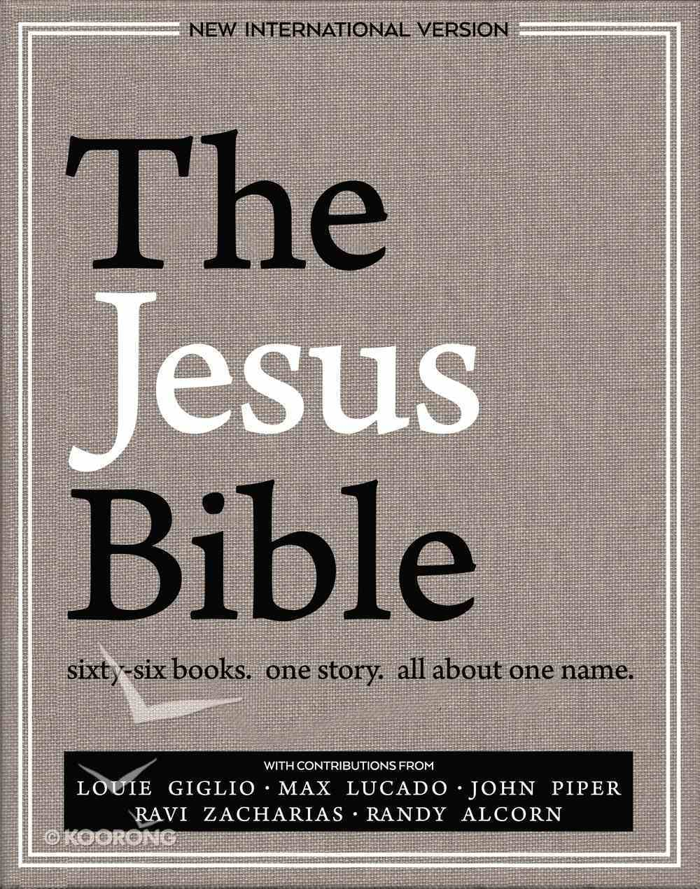 The Jesus Bible, NIV Edition, Ebook eBook