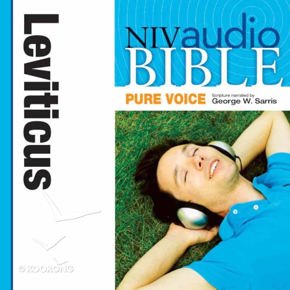 NIV, Audio Bible, Pure Voice: Leviticus, Audio eAudio Book