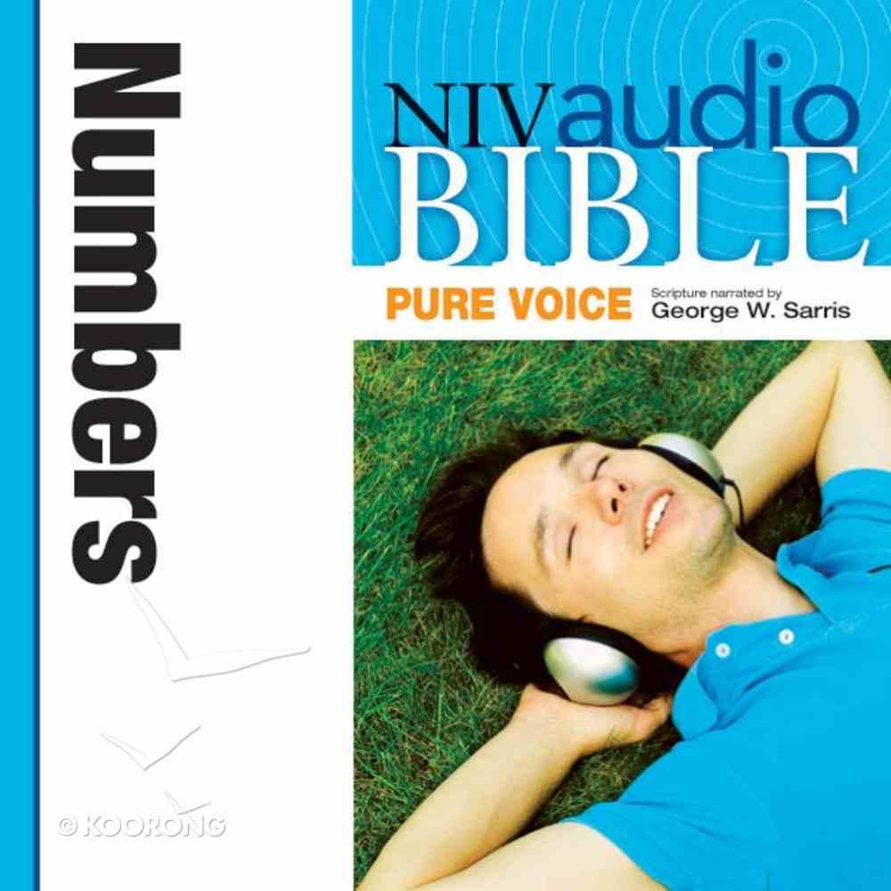 NIV, Audio Bible, Pure Voice: Numbers, Audio eAudio Book