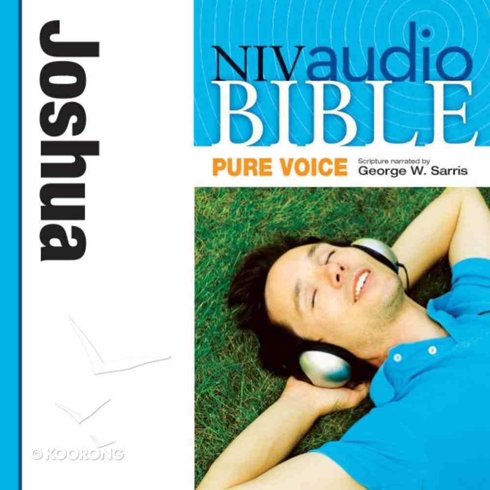 NIV, Audio Bible, Pure Voice: Joshua, Audio eAudio Book