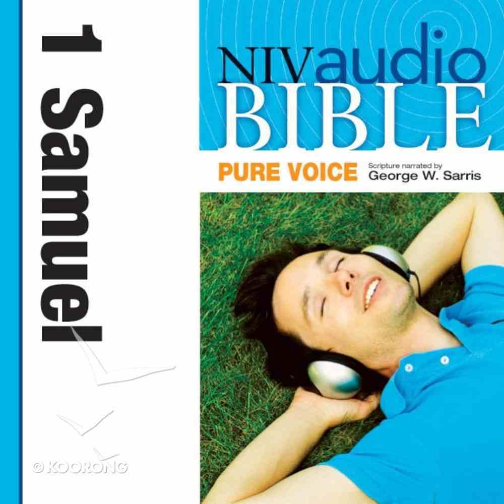 NIV, Audio Bible, Pure Voice: 1 Samuel, Audio eAudio Book