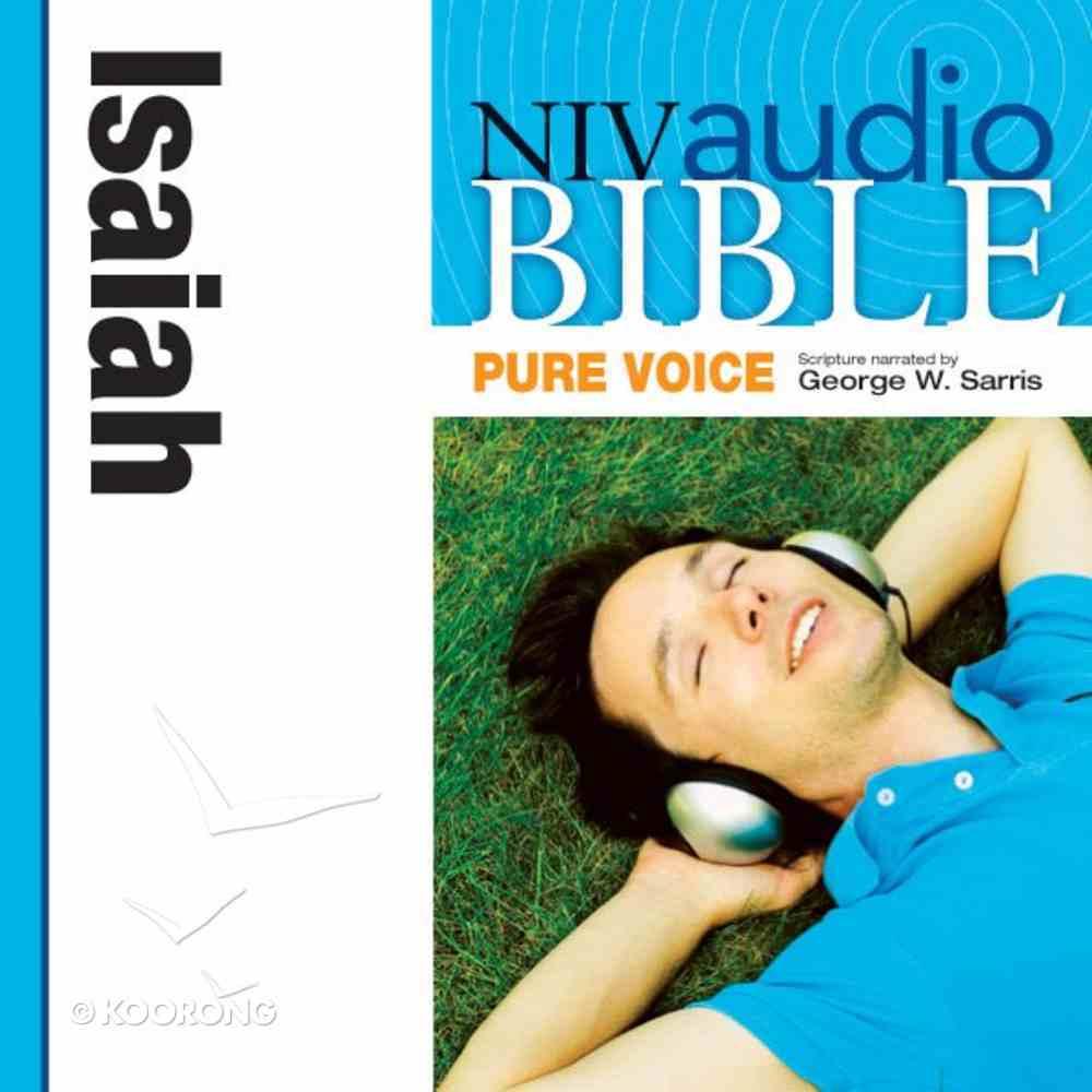 NIV, Audio Bible, Pure Voice: Isaiah, Audio eAudio Book