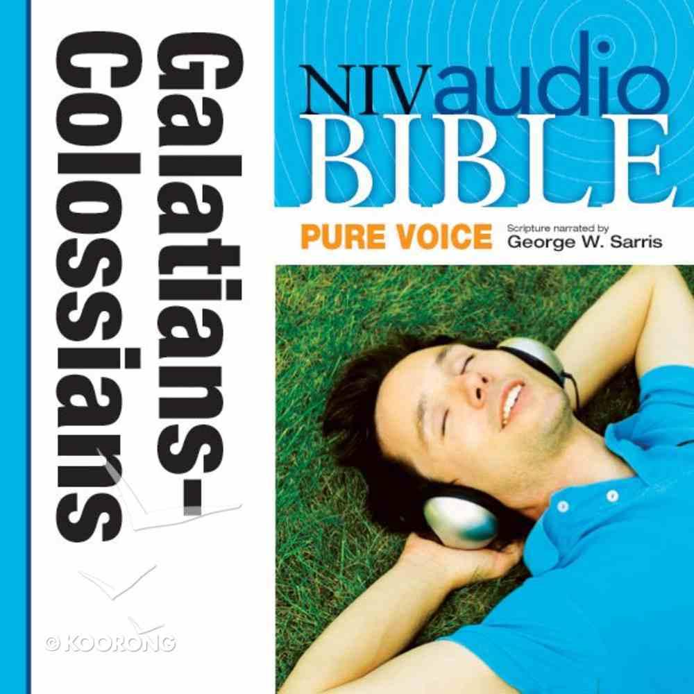 NIV, Audio Bible, Pure Voice: Galatians, Ephesians, Philippians, and Colossians, Audio eAudio Book