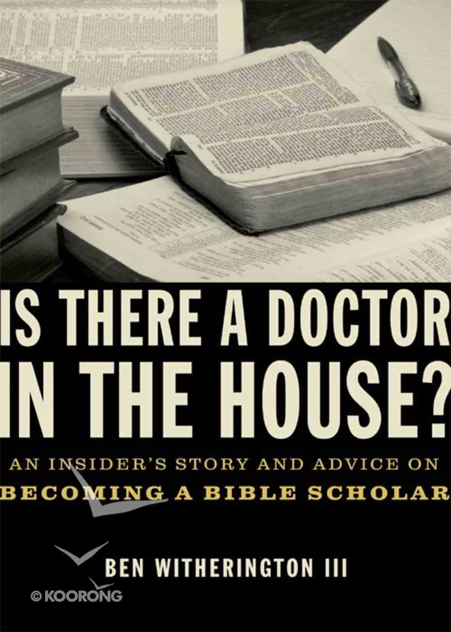Is There a Doctor in the House? eBook