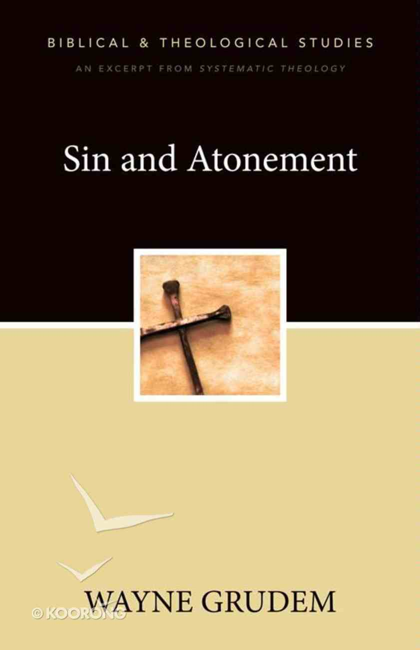 Sin and Atonement eBook