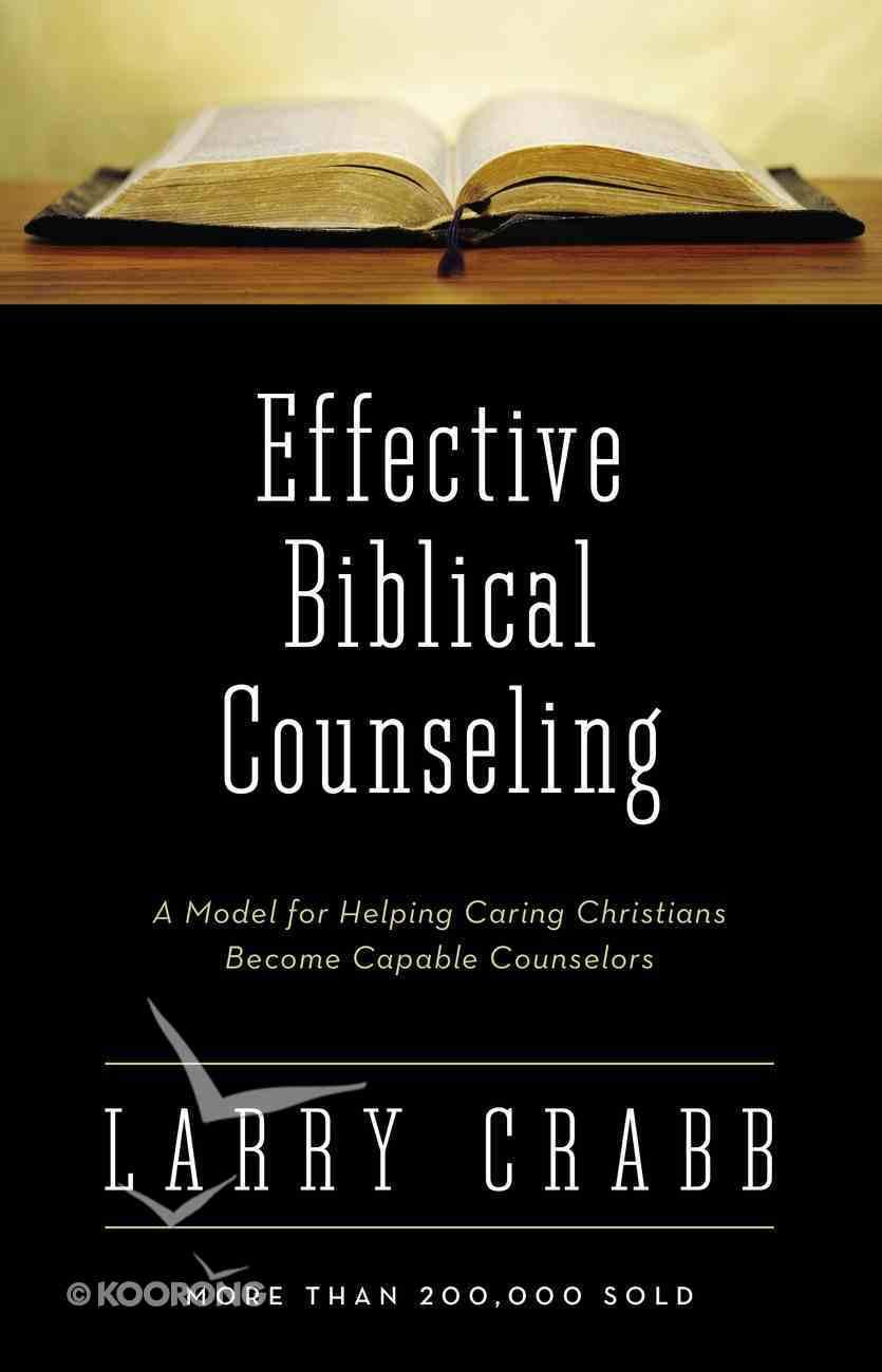 Effective Biblical Counseling eBook