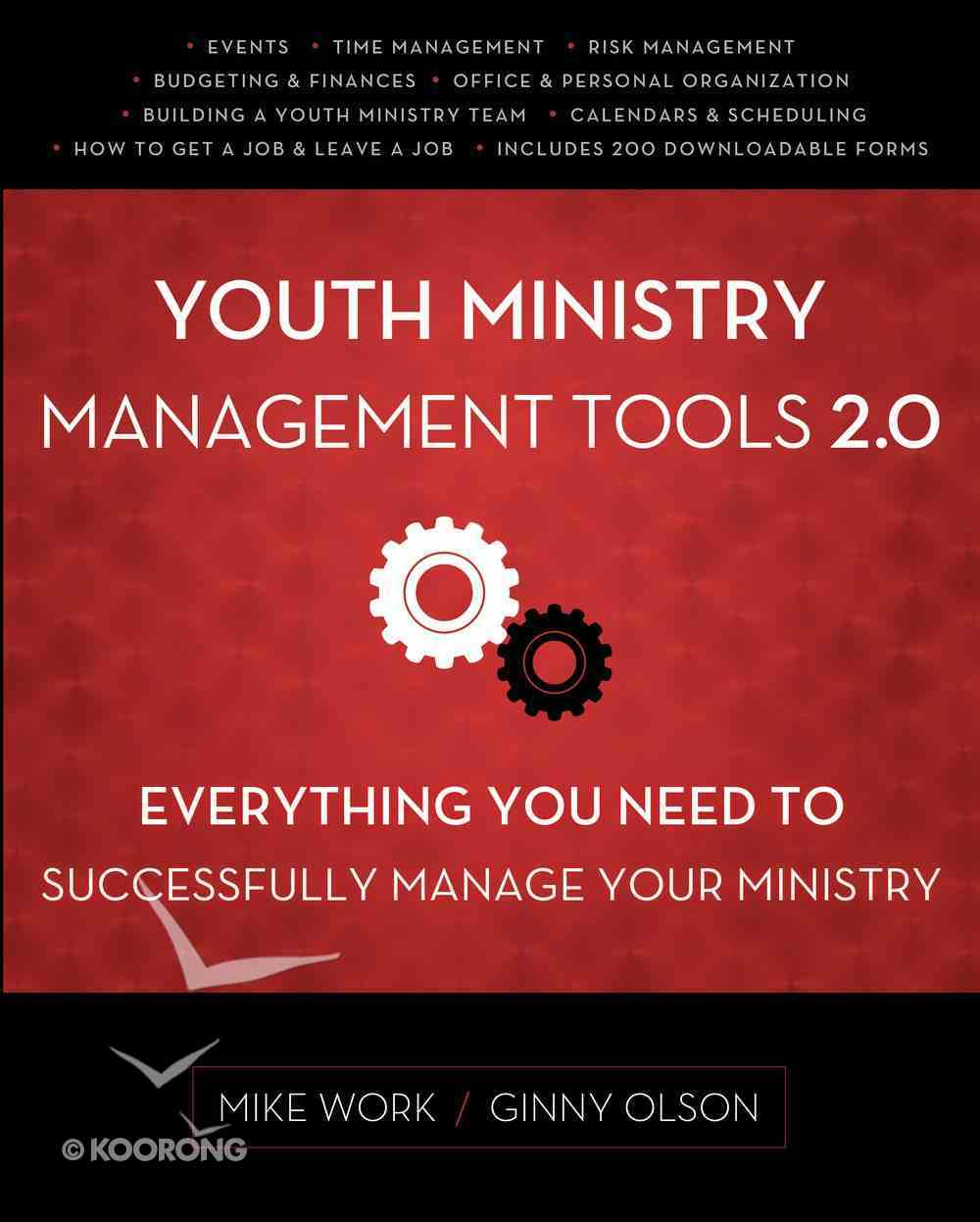 Youth Ministry Management Tools 2.0 eBook