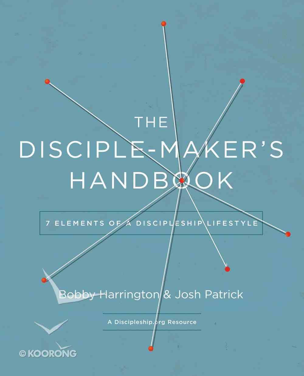 The Disciple-Maker's Handbook eBook